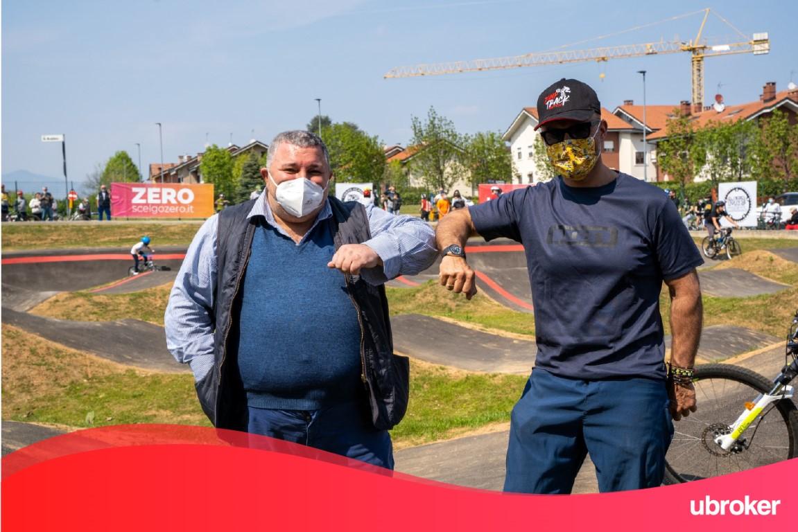 Pianezza TO - Ciclismo, inaugurato il nuovo circuito Pump Track